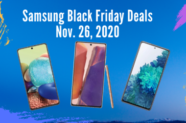 Samsung Smartphones – Black Friday Deals – Nov. 26, 2020