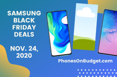Samsung Smartphones – Black Friday Deals – Nov. 24, 2020