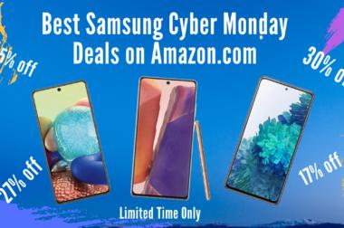 Samsung Smartphones – Cyber Monday Deals – 2020